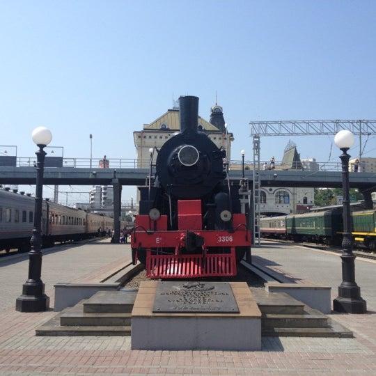 Photo taken at Железнодорожный вокзал Владивостока / Vladivostok Railway Station by Vadim S. on 7/7/2012
