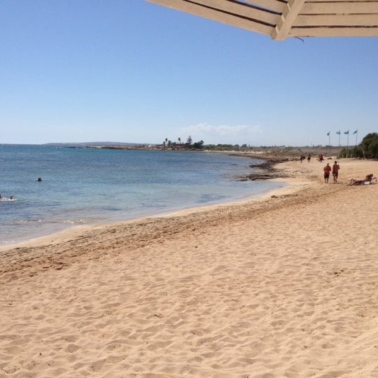 Photo taken at Makronissos Beach by George on 9/2/2012