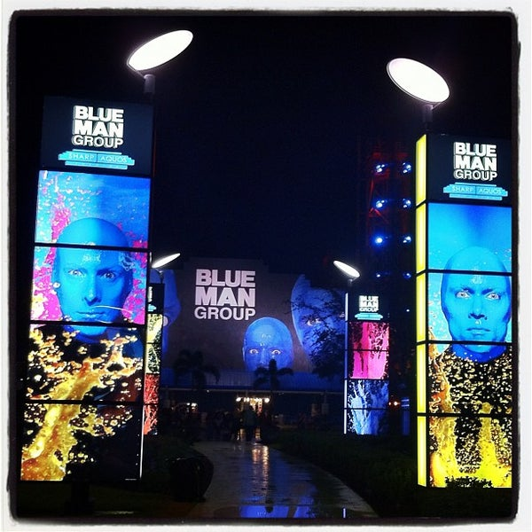Photo taken at Blue Man Group at Universal CityWalk by Sam L. on 2/11/2012