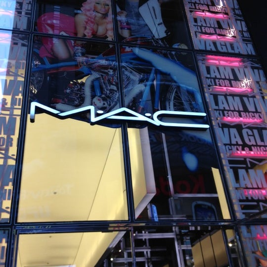 Photo taken at MAC Cosmetics by Ashley L. on 4/1/2012