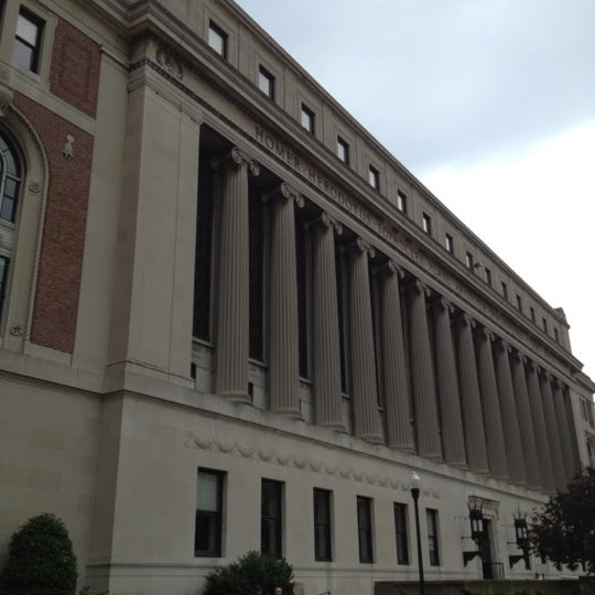 Photo taken at Butler Library by Manuel B. on 6/1/2012