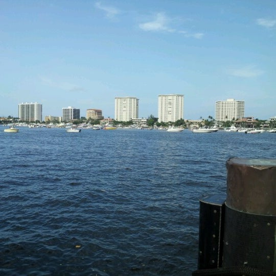 Photo taken at Lake Boca Raton by Brett V. on 7/4/2012