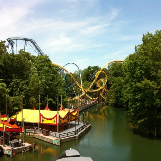 Photo taken at Busch Gardens Williamsburg by Kirk on 5/19/2012