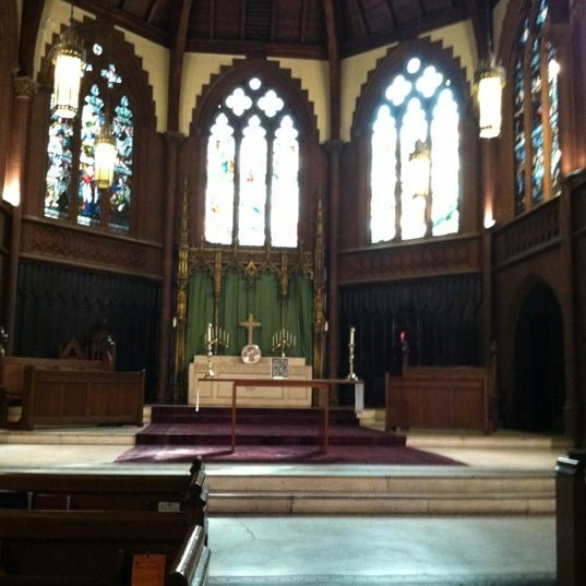 Photo taken at Church of the Holy Trinity (Episcopal) by Jeffrey B. on 2/12/2012