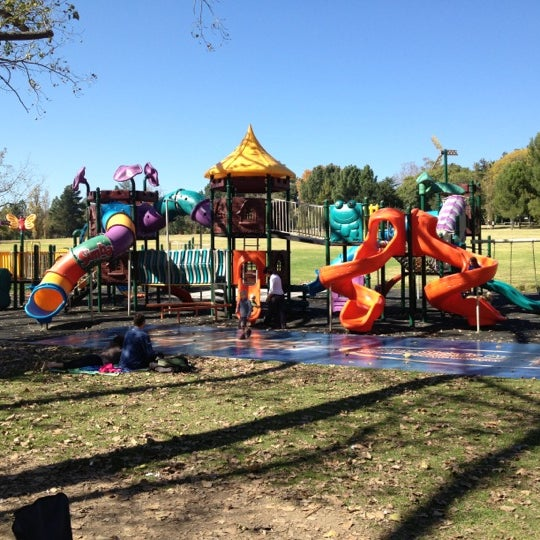 Photo taken at Simba Playground @ Delta Park by Dieter S. on 5/5/2012