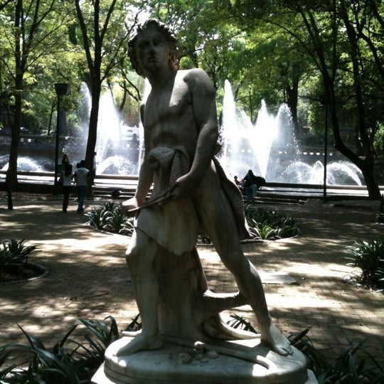 Photo taken at Bosque de Chapultepec by Hector C. on 6/30/2012