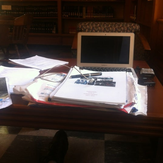 Photo taken at Doheny Memorial Library (DML) by Richard L. on 6/14/2012