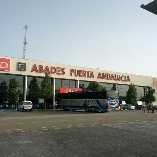 Photo taken at Abades Puerta de Andalucía by Mario T. on 8/2/2012