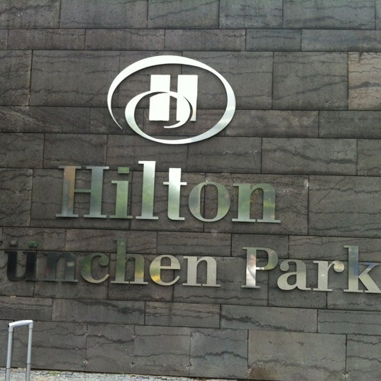 Photo taken at Hilton Munich Park by haynde on 7/13/2012