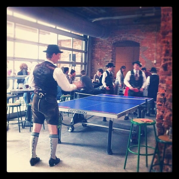 Photo taken at Frankford Hall by Laurie S. on 4/28/2012