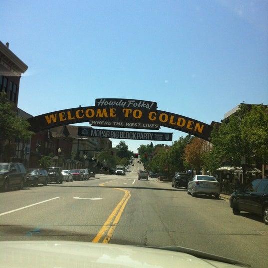 Photo taken at Golden, CO by Joe U. on 7/16/2012