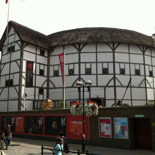 Photo taken at Shakespeare's Globe Theatre by ervin j. on 7/30/2012