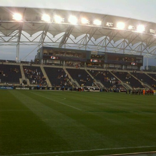 Photo taken at Talen Energy Stadium by Leon A B. on 5/29/2012