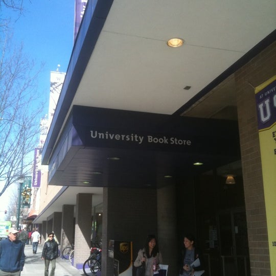 Photo taken at University Bookstore by Dave C. on 3/23/2011