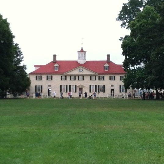 Photo taken at George Washington's Mount Vernon by Cathie C. on 7/21/2012