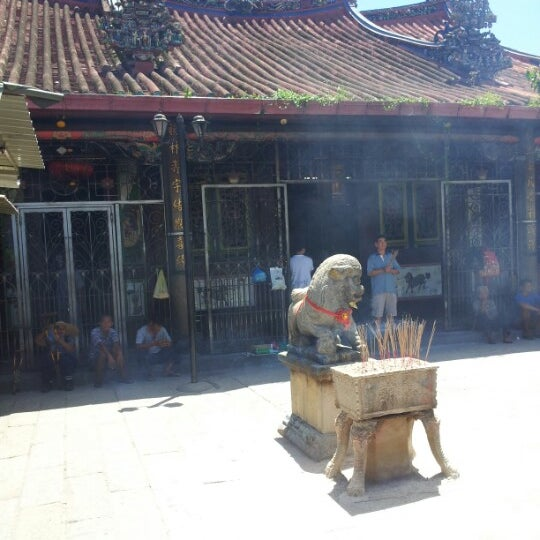 Photo taken at Kuan Yin Temple (觀音亭 Goddess of Mercy) by Jason N. on 6/10/2012