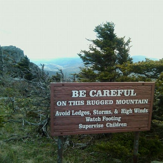 Photo taken at Grandfather Mountain by Cris M. on 5/12/2011