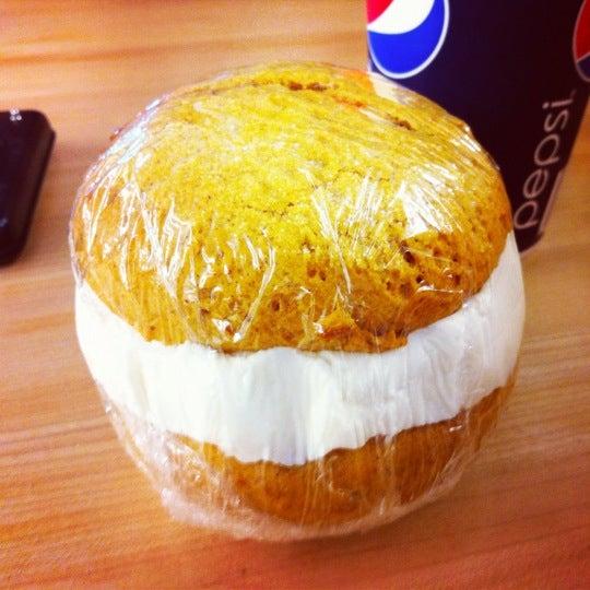 Grab a pumpkin ball from the fridge by the counter. Best dessert ever!