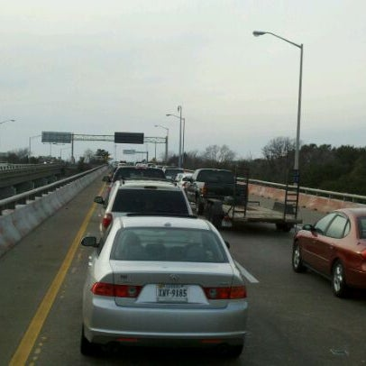 Photo taken at HRBT by Mike S. on 2/18/2012
