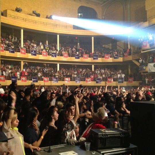 Photo taken at Hammerstein Ballroom by Matthew P. on 3/14/2012