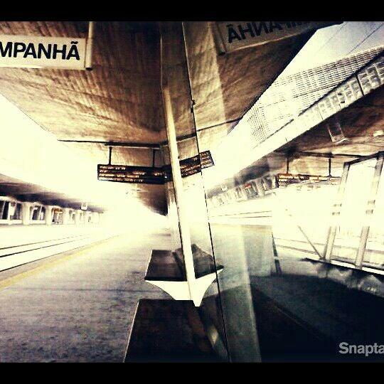 Photo taken at Estação Ferroviária de Porto-Campanhã by Joaquim Pedro S. on 3/27/2012