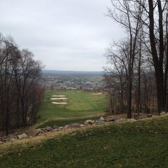 Photo taken at Raspberry Falls Golf & Hunt Club by Brandon F. on 3/18/2012