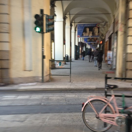 Photo taken at Via Po by Letizia M. on 2/15/2012