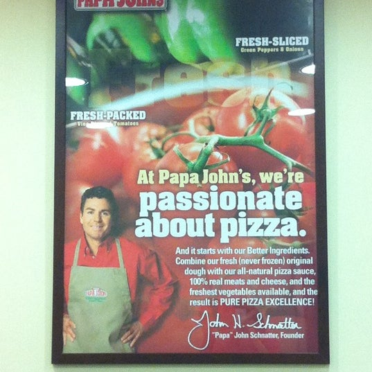 Photo taken at Papa John's by ROmina C. on 10/23/2011