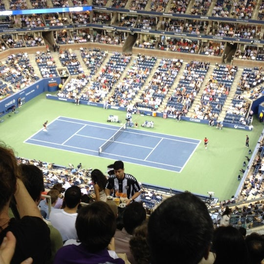 Photo taken at US Open Tennis Championships by David L. on 9/7/2012