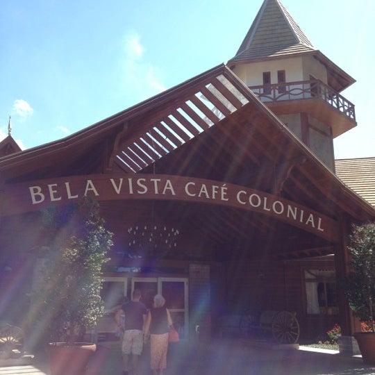 Foto tirada no(a) Bela Vista Café Colonial por Pedro B. em 3/10/2012