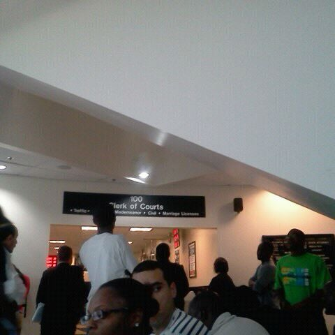 Photo taken at North Dade Justice Center by Lady L. on 1/30/2012