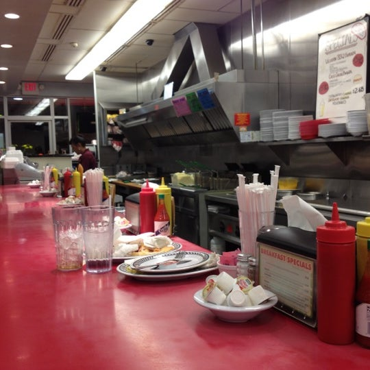 Photo taken at Courtesy Diner by Chris R. on 3/7/2012