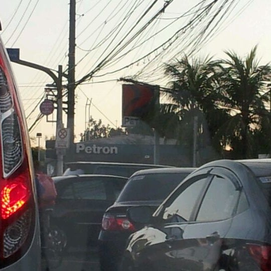 Photo taken at Petron Greenhills by Lui V. on 1/30/2012
