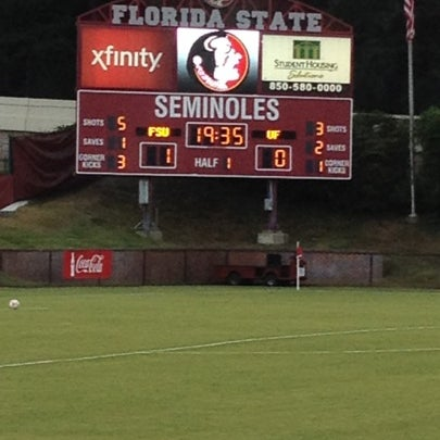Photo taken at The Seminole Soccer Complex by am j. on 8/31/2012