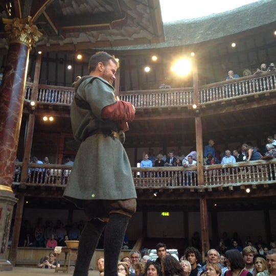 Photo taken at Shakespeare's Globe Theatre by Andrée-Anne on 8/21/2012