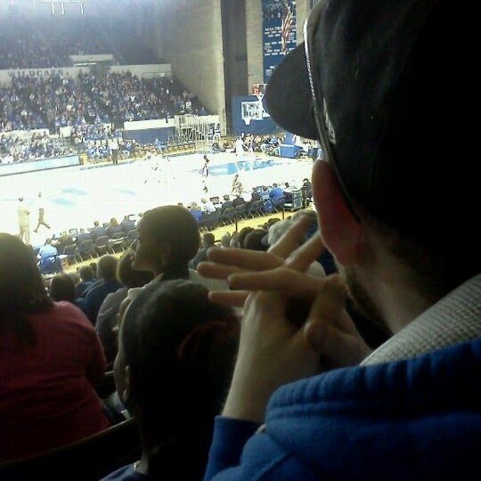 Photo taken at Memorial Coliseum by Melissa M. on 1/8/2012