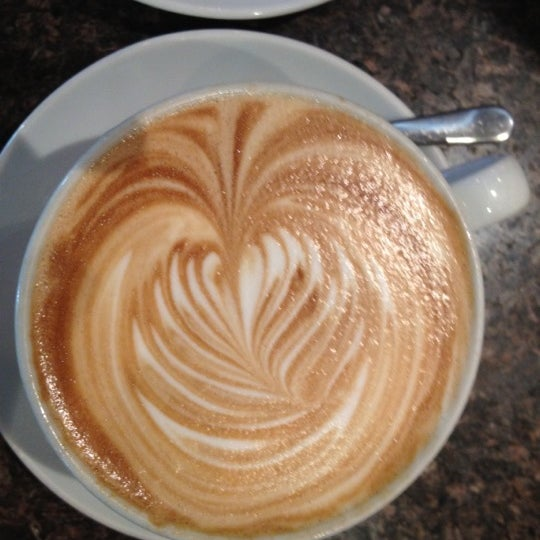 Photo taken at Espresso Vivace by Perry S. on 6/2/2012