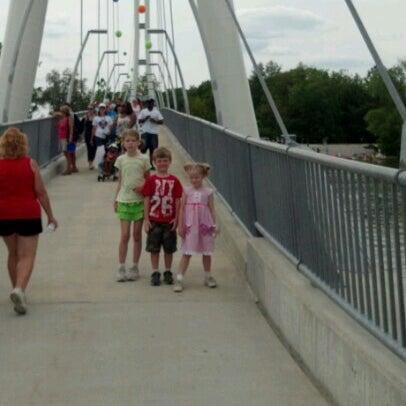 Photo taken at IPFW RiverFest by Christina P. on 6/23/2012
