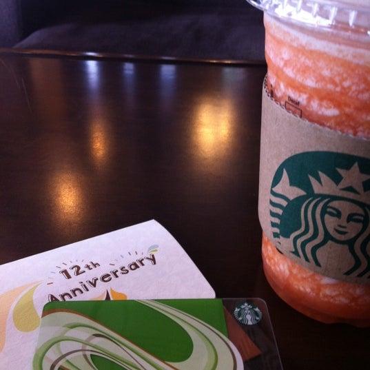 Photo taken at Starbucks by Chloe L. on 8/4/2011