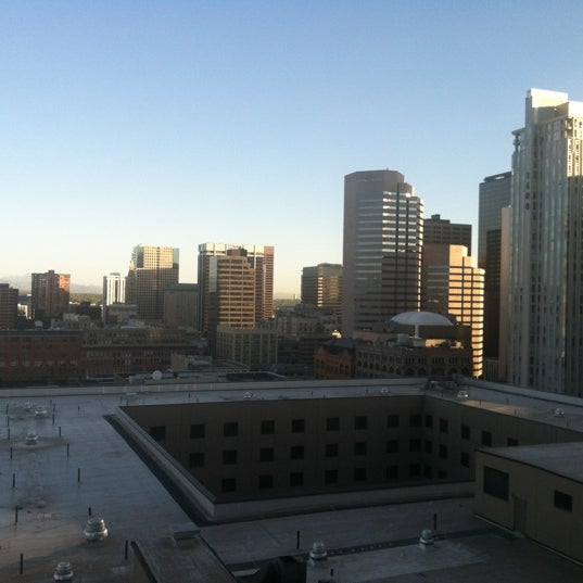 Photo taken at Sheraton Denver Downtown Hotel by Ed L. on 4/30/2012