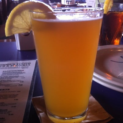 Photo taken at Moose's Tooth Pub & Pizzeria by Michaela B. on 7/22/2012