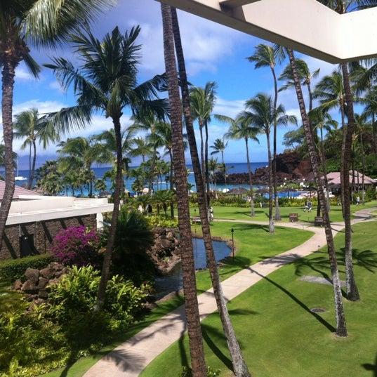 Photo taken at Sheraton Maui Resort & Spa by Tim S. on 6/1/2012