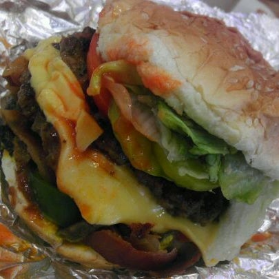 Photo taken at Five Guys by Sonia on 10/28/2011
