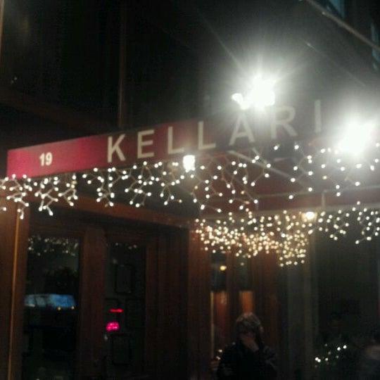 Photo taken at Kellari Taverna NY by Humphrey C. on 12/21/2011