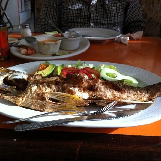 Photo taken at Restaurante Hnos. Hidalgo Carrion by Lorena B. on 3/13/2012