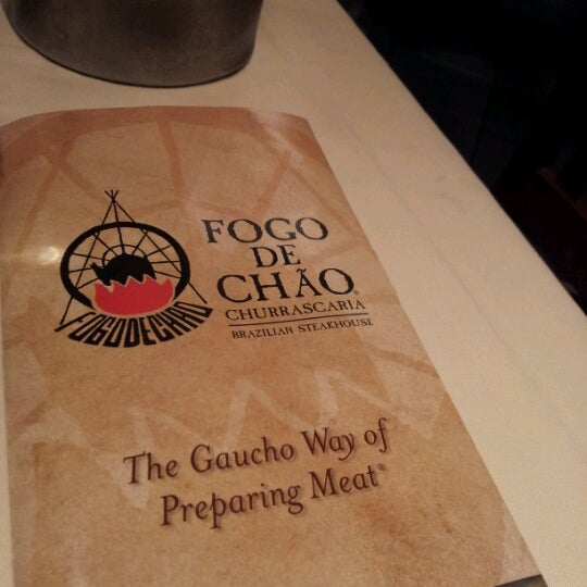 Photo taken at Fogo de Chao Brazilian Steakhouse by Kevin W. on 7/30/2012