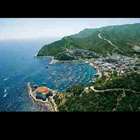 Photo taken at Santa Catalina Island by nicoletteelvie on 6/21/2012