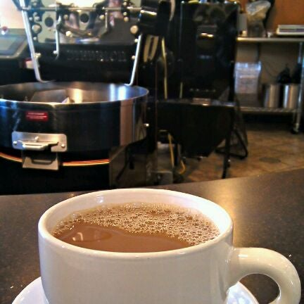 Photo taken at Arcedium Coffeehouse Inc by Ben K. on 2/19/2012