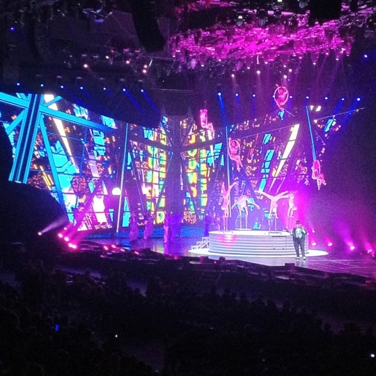 Photo taken at O2 arena by Jan D. on 2/19/2012