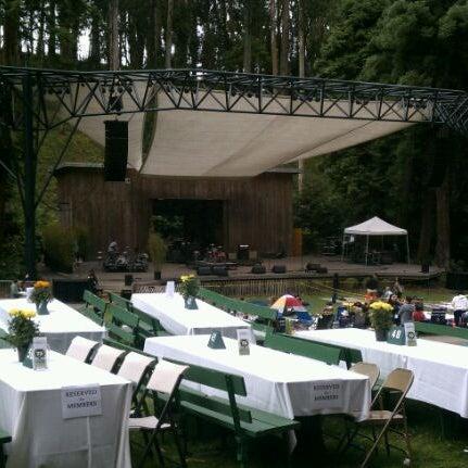 Photo taken at Sigmund Stern Grove by Feras B. on 7/15/2012
